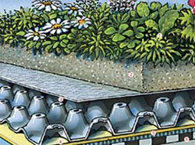 плосък покрив